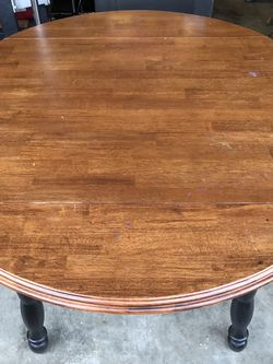 """42"""" Round Drop Leaf Table for Sale in Auburn,  WA"""