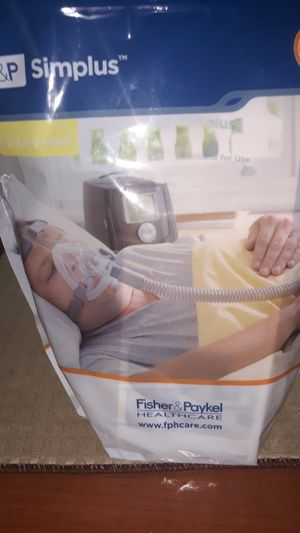 How's the S&P simplus full face mask scores C PAP for bi-level ventilation for Sale in Lake Worth, FL