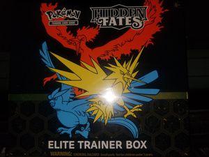 Pokemon Hidden Fates Elite Trainer Box for Sale in Los Angeles, CA