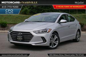 2017 Hyundai Elantra for Sale in Mount Juliet, TN