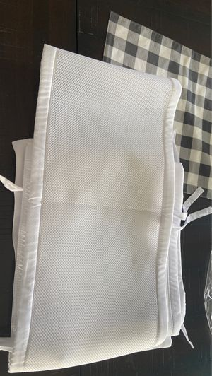 Breathable crib baby bumper for Sale in Bothell, WA