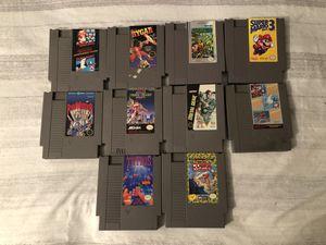 10 NES / Nintendo games for Sale in Everett, WA