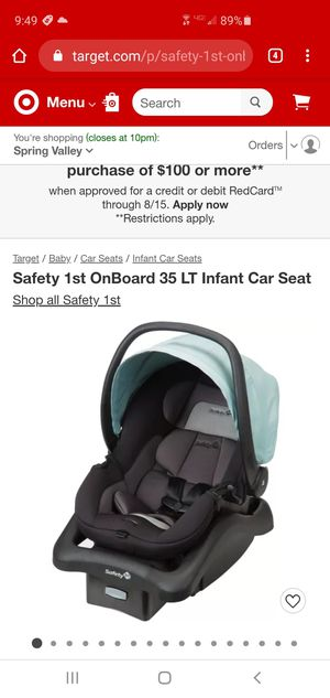 Safety 1st car seat with base for Sale in Monsey, NY