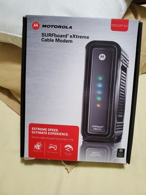 Motorola modem for Sale in Miramar, FL