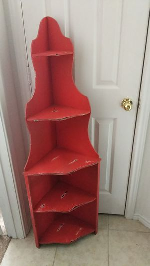 Small red shelf for Sale in Kyle, TX