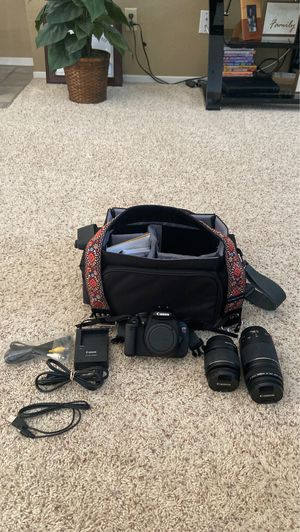 Canon EOS Rebel T3i Camera for Sale in Calimesa, CA