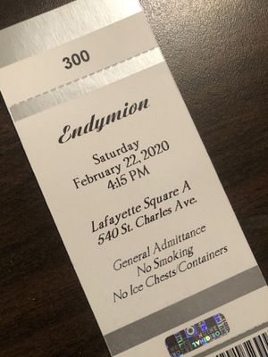 1 ticket left for Endymion! for Sale in New Orleans, LA