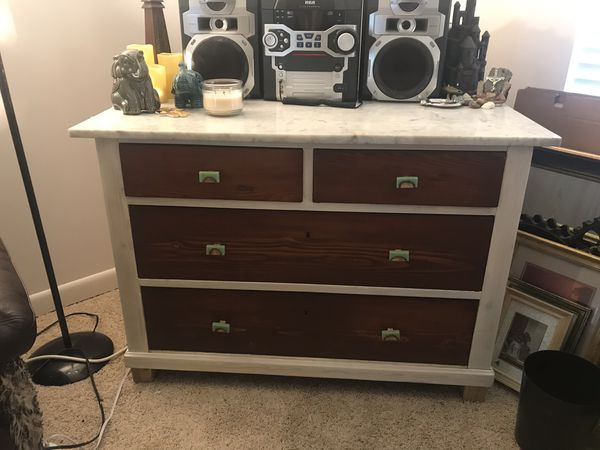 Marble Top set of drawers