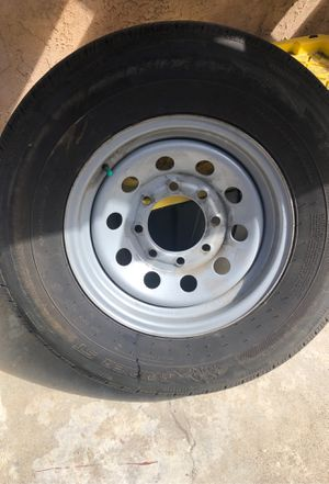 8 lug trailer wheel for Sale in San Diego, CA