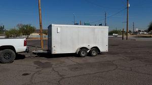 14ft wells cargo enclosed trailer for Sale in Phoenix, AZ