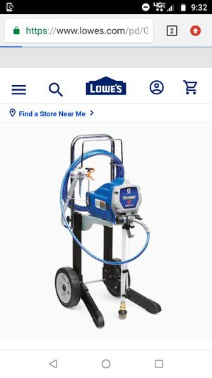 Graco paint sprayer for Sale in Tacoma, WA
