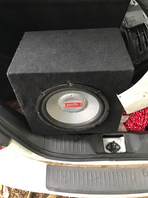 Polk Audio GXR10 10inch Subwoofer for Sale in Rex, GA
