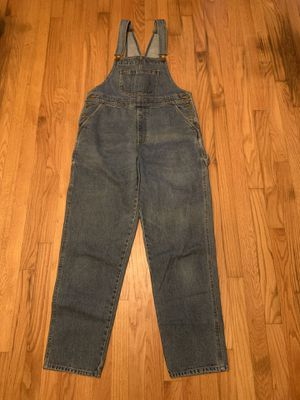 Vintage Cabelas Women's Denim Dress Bib Overalls Jean Medium RARE Cotton for Sale in Pelham, NH