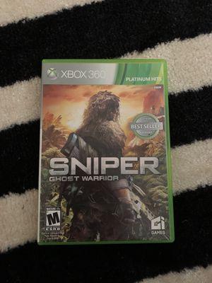 Sniper ghost warrior Xbox 360 game for Sale in Lorton, VA