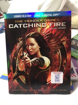 The Hunger Games Catching Fire / Combo BluRay & DVD & Digital Copy for Sale in Fontana, CA