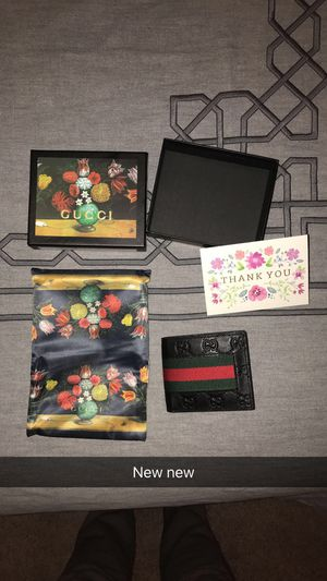 Brand New Gucci Wallet for Sale in Kent, WA