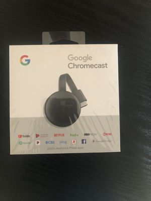 GOOGLE CHROMECAST ( brand new ) for Sale in Weymouth, MA