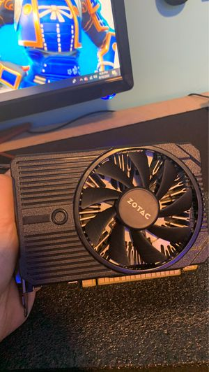 Zotac Gaming gtx 1050ti graphics card. for Sale in Charlestown, IN