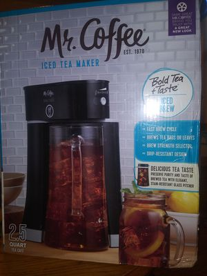 Mr. Coffee Ice Tea maker. for Sale in East Providence, RI