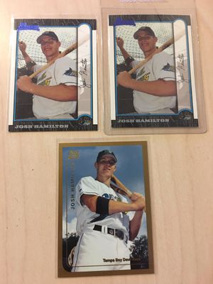 Josh Hamilton Baseball Rookie Cards for Sale in Montebello, CA