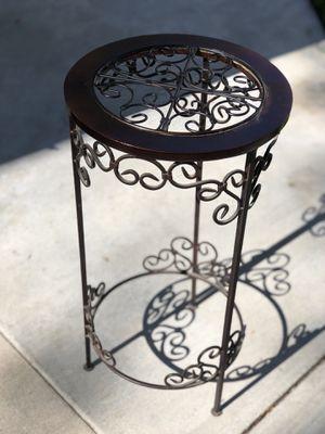 Wood & Metal Side Table for Sale in Fullerton, CA