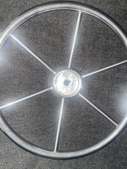 15 1/2 Inch Boat Steering Wheel Used for Sale in Glen Burnie,  MD