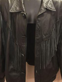 Vintage Pioneer Fringe Leather Jacket for Sale in Decatur,  GA