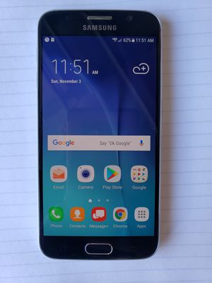 Samsung Galaxy S6. Flawless no scratches or cracks. for Sale in Davenport, FL