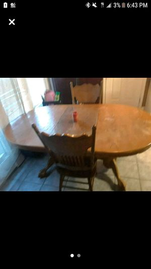 dining room table and chairs for Sale in Lexington, KY