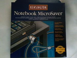 Kensington Notebook Microsaver security cable lock #64068. for Sale in GRANDVIEW, OH