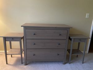 Dresser and Side Table Set - 3 Pieces for Sale in Woodbridge, VA