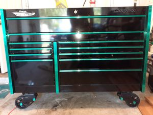 SNAP-ON LIMITED EDITION DARK RIDER WORK TOP TOOL BOX TOOL CHEST for Sale in Orlando, FL