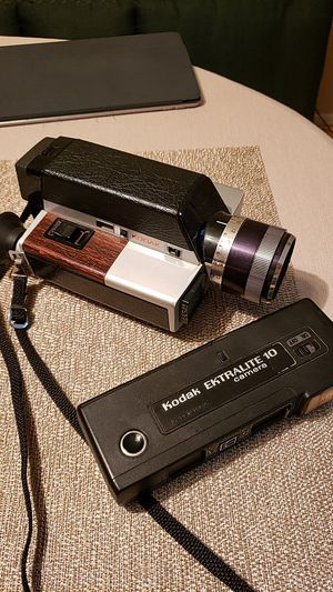 "Super 8mm and 10mm ""Ice Cream Sandwich"" film cameras for Sale in Issaquah, WA"