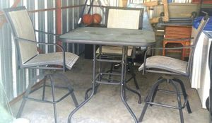 Patio table with chairs NEGOTIABLE for Sale in Dumfries, VA