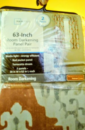 Room darkwning curtains brand new!! for Sale in Oklahoma City, OK