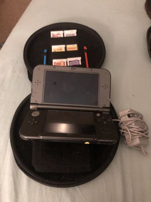Nintendo 3ds XL (Charger, Case, Multiple games) for Sale in Charlotte, NC
