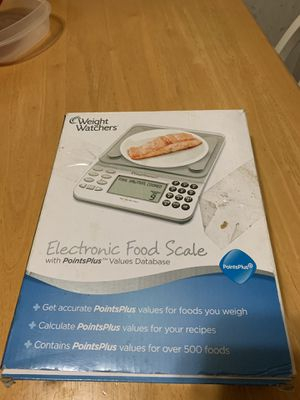 NIB Weight Watchers Electronic Food Scale for Sale in Rustburg, VA