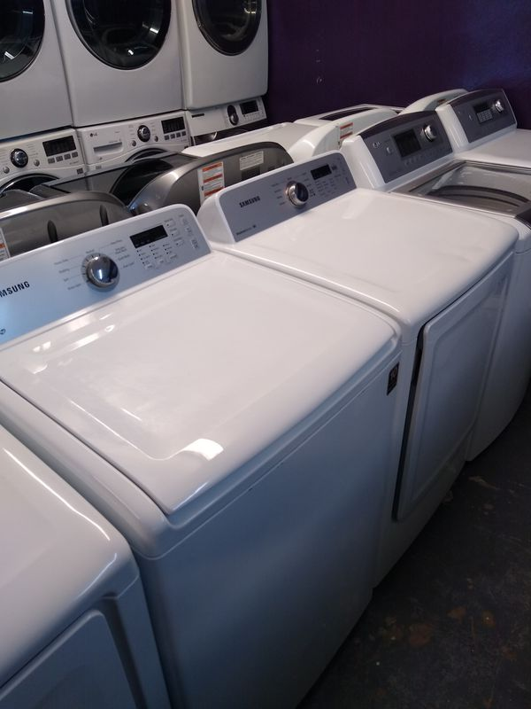 🎁Samsung large capacity top loads washer and dryer electric $500