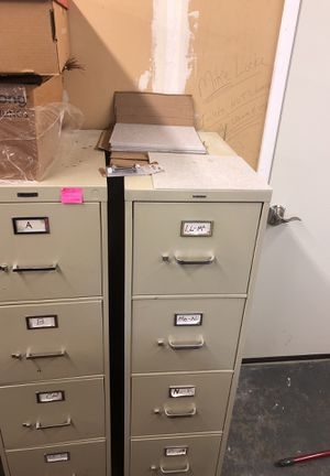 Filing cabinets for Sale in Pittsburgh, PA