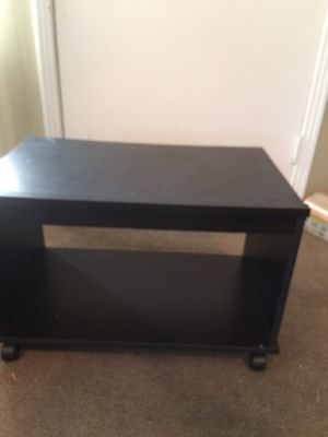 TV stand on wheels for Sale in Eastman, GA