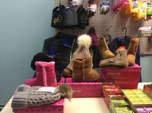 Uggs boots and Hats for Sale in Springfield, MA