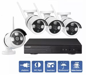 4 CH wireless 1080P NVR IR night vision outdoor/ indoor security cameras / baby monitor for Sale in Glendale, AZ