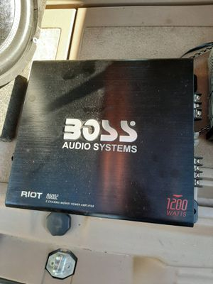 Pioneer Stereo 1200 Watt Boss Amp And 15 Inch Subwoofers for Sale in Beech Grove, IN