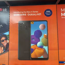 Free Galaxy A21 When You Switch To Boost for Sale in Houston,  TX
