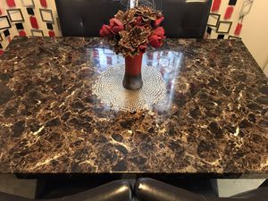 Marble Table w/ chairs for Sale in Ithaca, NY