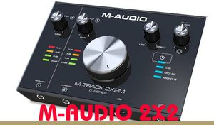 M-AUDIO M-TRACK 2X2 INTERFACE for Sale in Cherry Hill, NJ