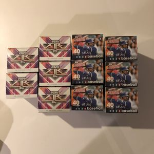 11 TOPPS Baseball Trading Cards Blaster Boxes for Sale in West Bloomfield Township, MI