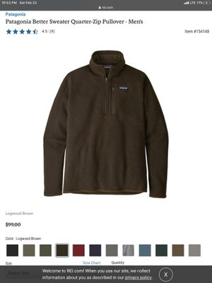 Patagonia Sweater 2xl for Sale in Los Angeles, CA