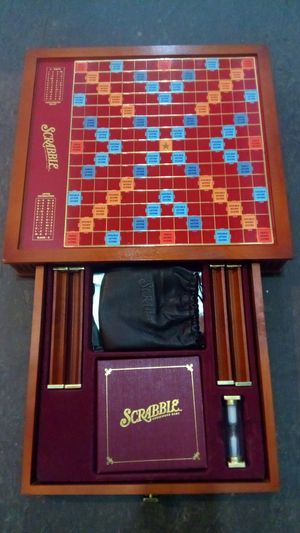 Scrabble Luxury Edition Board Game for Sale in Henderson, NV