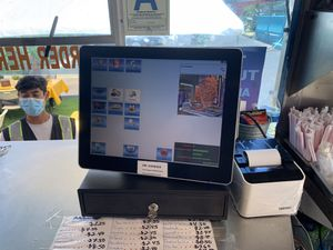 Food truck touch register for Sale in Santa Ana, CA